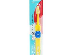 Tepe Select Extra Soft Οδοντόβουρτσα Πολύ Μαλακή για Αποτελεσματικό Καθαρισμό & Προστασία των Ούλων 1 Τεμάχιο – κίτρινο
