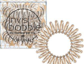Invisibobble Original Time To Shine Bronze me Pretty Λαστιχάκι Μαλλιών 3 Τεμάχια