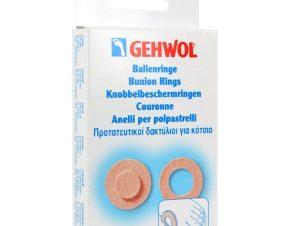 Gehwol Bunion Ring Round Προστατευτικοί Δακτύλιοι για Κότσια 6 τεμάχια