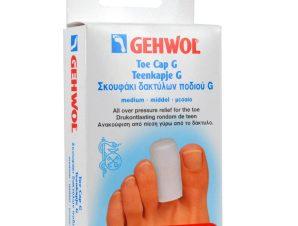 Gehwol Toe Cap G Medium/Μεσαίο Σκουφάκι Δακτύλων Ποδιού 2 τεμάχια