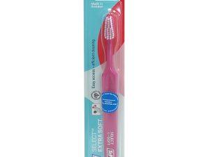Tepe Select Extra Soft Οδοντόβουρτσα Πολύ Μαλακή για Αποτελεσματικό Καθαρισμό & Προστασία των Ούλων 1 Τεμάχιο – φούξια
