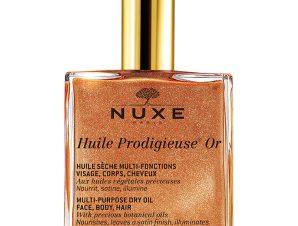 Nuxe Promo Ειδική Τιμή Προσφοράς Huile Prodigieuse Or Ιριδίζον Ξηρό Λάδι για Πρόσωπο Σώμα Μαλλιά 50ml