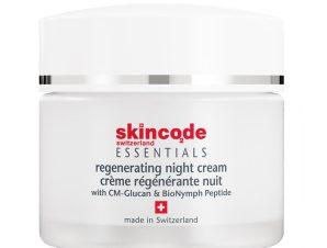 Skincode Regenerating Night Cream Αναζωογονητική Κρέμα Νύχτας για Όλες τις Επιδερμίδες 50ml