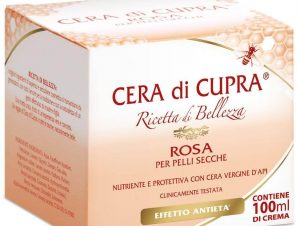 Cera di Cupra Rosa Ενυδατική Κρέμα Προσώπου για Ξηρά Δέρματα Απο Αγνό Κερί Μελισσών 100ml