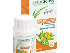 Naturactive Ροδιόλα Φυτικό Συμπλήρωμα Διατροφής που Συμβάλει στην Τόνωση της Πνευματικής Ενέργειας 30caps