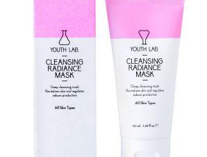 Youth Lab Cleansing Radiance Mask Μάσκα Καθαρισμού, Λάμψης & Μείωσης των Διεσταλμένων Πόρων 50ml