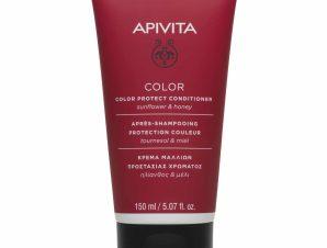 Apivita Color Protect Κρέμα Προστασίας Χρώματος για Βαμμένα Μαλλιά Ηλίανθος & Μέλι 150ml