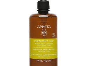 Apivita Frequent Use Gentle Daily Shampoo With Chamomile & Honey Απαλό Σαμπουάν Καθημερινής Χρήσης με Χαμομήλι & Μέλι 500ml