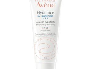 Avene Hydrance UV Legere Emulsion Spf30 Ενυδατική Λεπτόρρευστη Κρέμα για Κανονικές και Μεικτές Επιδερμίδες 40ml