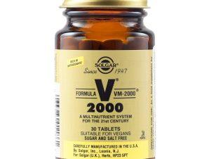 Solgar Formula VM-2000 Πολυβιταμίνες Tabs – 30 tabs