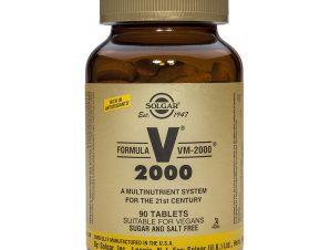 Solgar Formula VM-2000 Πολυβιταμίνες Tabs – 90 tabs