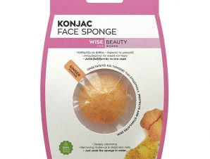 Vican Konjac Face Sponge με Σκόνη Τζίντζερ για την Προστασιά & Τονώση της Επιδερμίδας 1 Τεμάχιο
