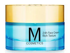 M Cosmetics 24h Face Cream Rich Texture 24ωρη Κρέμα Προσώπου Πλούσιας Υφής με Ολοκληρωμένη Αντιρυτιδική & Συσφικτική Δράση 50ml