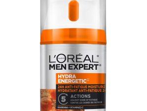 L'oreal Paris Men Expert Hydra Energetic 24H Anti-Fatique Moisturizer Cream Ενυδατική Κρέμα Κατά των Σημαδιών Κούρασης 48ml