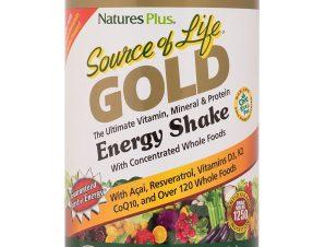 Nature's Plus Source of Life Gold Shake Πολυβιταμινούχο Συμπλήρωμα Διατροφής 442 gr