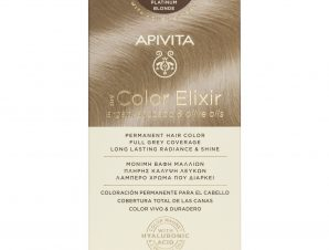 Apivita My Color Elixir Μόνιμη Βαφή Μαλλιών με Καινοτόμο Σύστημα Color Magnet που Σταθεροποιεί και Σφραγίζει το Χρώμα στην Τρίχα – N 10 ΚΑΤΑΞΑΝΘΟ
