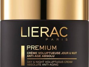Lierac Premium Creme Voluptueuse Night & Day Absolute Anti-Aging 24ωρη Κρέμα Εξαιρετικής Άνεσης & Απόλυτης Αντιγήρανσης 50ml