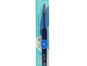 Tepe Select Medium Οδοντόβουρτσα Μέτρια για Εύκολη Πρόσβαση στα Πίσω Δόντια & Αποτελεσματικό Καθαρισμό 1 Τεμάχιο – μπλέ