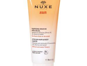 Nuxe Sun After-Sun Hair & Body Shampoo Σαμπουάν – Αφρόλουτρο για Μετά τον Ήλιο 200ml