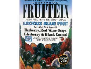 Nature's Plus Fruitein Συμπλήρωμα Διατροφής Πρωτεϊνών με Συνδυασμό Βιταμινών, Μετάλλων & Μπλε Φρούτων & Καρπών σε Σκόνη 576gr