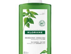 Klorane Shampoo Ortie Σαμπουάν με Τσουκνίδα Κατά της Λιπαρότητας 400ml