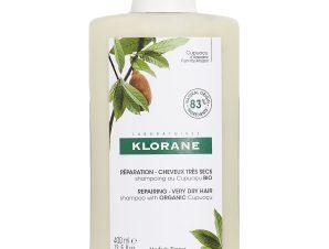 Klorane Shampoo With Cupuacu Butter Σαμπουάν για Πολύ Ξηρά Μαλλιά Με Βούτυρο Κουπουασού 400ml