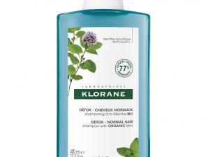 Klorane Anti-Pollution Detox Shampoo Σαμπουάν Αποτοξίνωσης από την Ρύπανση με Υδάτινη Μέντα 400ml