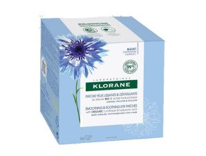 Klorane Smoothing & Soothing Eye Patches Δροσιστικά Επιθέματα Ματιών Κατά των Σημαδιών Κόπωσης 7x2Patches