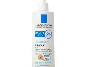 La Roche-Posay Lipikar Lait Γαλάκτωμα Σώματος Εμπλουτισμένο με Λιπίδια Κατά της Ξηρότητας – 400ml
