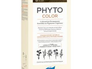 Phyto PhytoColor Coloration Permanente η No1 Μόνιμη Βαφή Μαλλιών Χωρίς Χρωστικές Ουσίες & Αμμωνία – 8 Ξανθό Ανοιχτό