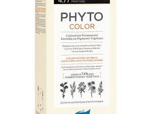 Phyto PhytoColor Coloration Permanente η No1 Μόνιμη Βαφή Μαλλιών Χωρίς Χρωστικές Ουσίες & Αμμωνία – 4.77 Καστανό Έντονο Μαρόν