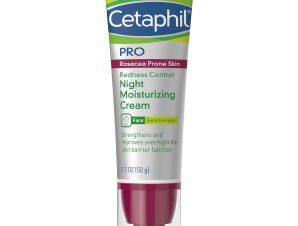 Cetaphil PRO Redness Control Face Night Moisturizing Cream, 50ml