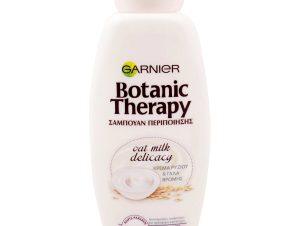 Garnier Botanic Therapy Oat Delicacy Σαμπουάν Απαλής Περιποίησησης με Κρέμα Ρυζιού και Γάλα Βρώμης 400ml