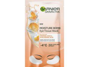 Garnier Eye Tissue Mask Υφασμάτινη Μάσκα Ενυδάτωσης Ματιών με Πορτοκάλι 6gr
