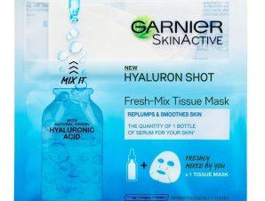 Garnier Hyaluronic Tissue Mask Fresh-Mix Υφασμάτινη Μάσκα Ενυδάτωσης με Υαλουρονικό Οξύ 33gr