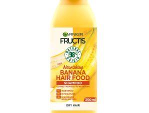 Garnier Fructis Hair Food Nourishing Shampoo Banana Θρεπτικό Σαμπουάν με Μπανάνα για Ξηρά Μαλλιά 350ml