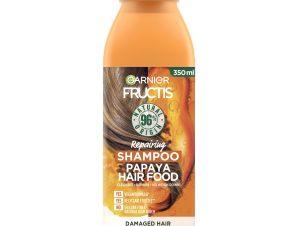 Garnier Fructis Hair Food Repairing Sampoo Papaya Θρεπτικό Σαμπουάν με Παπάγια για Φθαρμένα Μαλλιά 350ml