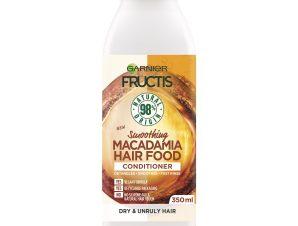 Garnier Fructis Hair Food Smoothing Conditioner Macadamia 350ml,Μαλακτική Κρέμα Μαλλιών με Macadamia για Εντατική Θρέψη 350ml