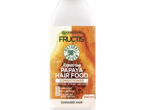 Garnier Fructis Hair Food Repairing Conditioner Papaya Επανορθωτική Μαλακτική Κρέμα Μαλλιών με Παπάγια για Φθαρμένα Μαλλιά 350ml