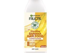 Garnier Fructis Hair Food Nourishing Conditioner Banana Μαλακτική Κρέμα Μαλλιών με Μπανάνα 350ml