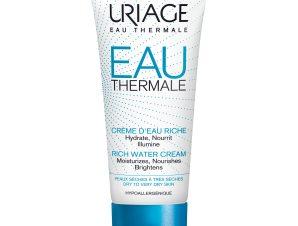 Uriage Eau Thermale Rich Water Cream Ξεδιψά Ακόμα και το πιο Αφυδατωμένο Δέρμα Ενυδατώνοντάς το σε Βάθος 40ml