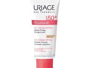 Uriage Eau Thermale Roseliane CC Tinted Cream Spf50+ Κρέμα Προσώπου με Χρώμα Πολύ Υψηλής Προστασίας Κατά της Ερυθρότητας 40ml