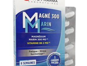 Forte Pharma Magne 300 Marin Συμπλήρωμα Μαγνησίου Φυσικής Προέλευσης 56 Tabs