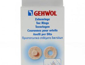 Gehwol Toe Ring Στρογγυλά Προστατευτικά Επιθέματα Δακτύλων 9 τεμάχια