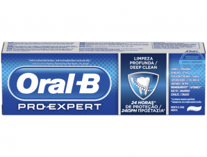 Pro-Expert Deep Clean Toothpaste 75ml – Oral-B,Οδοντόκρεμα με 4x Μικρότερους Μικρόκοκκους για πιο Βαθύ Καθαρισμό