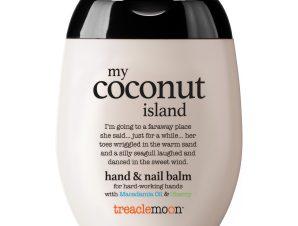 Treaclemoon my Coconut Osland Hand & Nail Balm Κρέμα Χεριών & Νυχιών με Λάδι Macademia & Αγριοκέρασο και Άρωμα Καρύδας 75ml