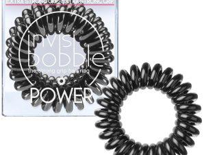 Invisibobble Power True Black Λαστιχάκι Μαλλιών 3 Τεμάχια