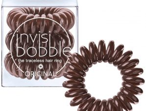 Invisibobble Power Original Pretzel Brown Λαστιχάκι Μαλλιών 3 Τεμάχια