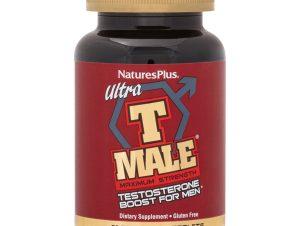 Nature's Plus Ultra T Male Συμπλήρωμα Διατροφής με Τεστοστερόνη 60 Bi-Layered Tabs