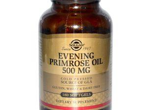 Solgar Evening Primrose Oil softgels – 500mg 180softgels